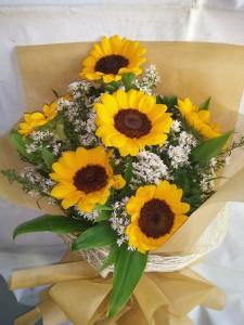 (15-8) 6 pcs. Sunflower....Php2,400